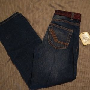 Brand NWT Boys Size 10 Jeans with Belt! *! *!